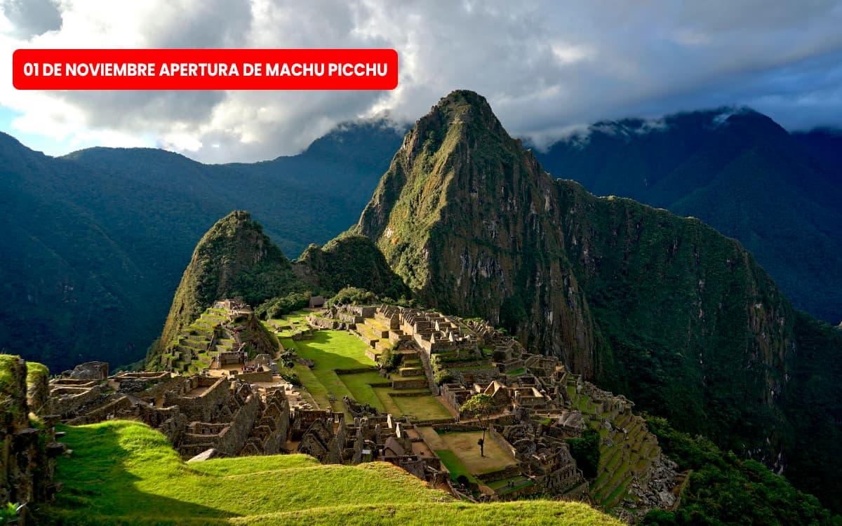Apertura Machu Picchu 2021